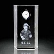 クリスタル時計|サイドライン