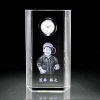 サイドライン|クリスタル時計