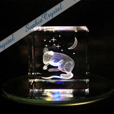 子(ネズミ)年のノベルティーにも|子(ネズミ)年のノベルティーに最適!|子(ネズミ)|3Dクリスタル|記念品.com