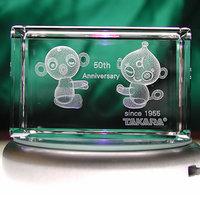 50周年記念|3Dクリスタル