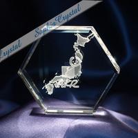 大型・企業記念品|3Dクリスタル