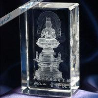仏像|3Dクリスタル