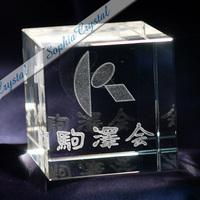 団体記念品|3Dクリスタル