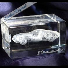 自動車や機械などもOK!貴社指定のデザインでフルオーダー|自動車や機械などもOK!貴社指定のデザインでフルオーダー|販促アイテム|3Dクリスタル|記念品.com