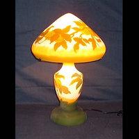 FD-034|ガレ調ランプ・キセグラス