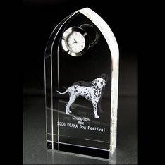 サイズも豊富な創立記念や竣工記念に最適なクリスタル時計です!|スッキリとしたスリム形状で、竣工の記念品に多数採用されたクリスタル時計です!|アーチ|クリスタル時計|記念品.com