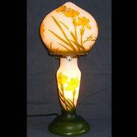 WDG0702-1|ガレ調ランプ・キセグラス