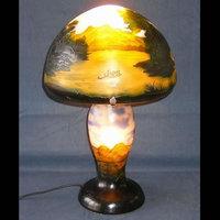 WDG1036-3|ガレ調ランプ・キセグラス
