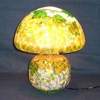 WDG-1049C|ガレ調ランプ・キセグラス