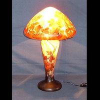 WDG-1418C|ガレ調ランプ・キセグラス