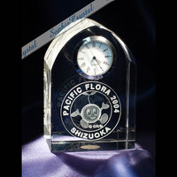 サイズフリー|クリスタル時計