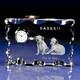 1個から作成!おしゃれな時計の中に思い出の写真が浮かぶ♪|クリスタル時計|カットスクエア|信頼のセイコー社ムーブメントを採用した高品質でカットがおしゃれなクリスタルガラスを使用。