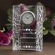 創立記念品に最適!|クリスタル時計|DT-14レーザー|内部レーザーでガラスの中に文字が浮かぶ不思議感!