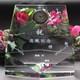 人気のペンタゴン形状の表彰用クリスタル時計|クリスタル時計|DT-13レーザー|チョッと大型で人気のペンタゴン形状の表彰用クリスタル時計