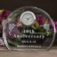 退職祝いに人気!学校の創立記念にも・・|クリスタル時計|DT-3レーザー|職場の同僚からの退職祝いや学校の創立記念に人気です。
