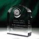 企業などの創立記念にも。|クリスタル時計|DT-9レーザー|企業などの創立記念や資格、ライセンス認定証的な記念の置物などにも最適。