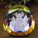ホログラム仕様で美しい輝き|ペーパーウェイト|DW-5レーザー|ホログラム仕様で美しい輝き。