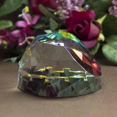 底部ホログラムの効果で角度により七色に輝きます。|DW-5