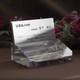 記念のオブジェと実用品の機能を兼ね備えた名刺立てです。|ペーパーウェイト|DW-7レーザー|記念のオブジェと実用品の機能を兼ね備えた名刺立てです。