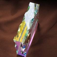 見る角度で七色に輝くホログラム加工|記念品.com