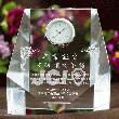 日本青年会議所(JCI)専用デザイン:クリスタル時計|DT-7(JCI)