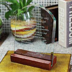 (材質:ソーダガラス)|コスパ抜群! 期間限定お試し価格!1個からオーダーが可能です。 普通のガラス(ソ...|表彰楯DSP-1|大量割引|記念品.com