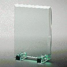 (材質:ソーダガラス)|コスパ抜群! 期間限定お試し価格!1個からオーダーが可能です。 普通のガラス(ソ...|表彰楯PS-4|大量割引|記念品.com
